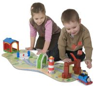Deluxe Drive Away Talking Thomas activity set