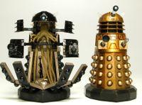 Airfix Daleks in Manhattan