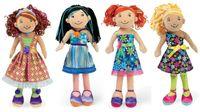Groovy Girls RSVP.com Darise, Dela, Dhara and Denell.