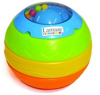 Lamaze 3-in-1 Stack, Roll & Crawl Ball