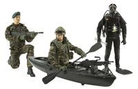 Armed Forces Royal Marines Commando, Commando with Stealth Canoe and Navy Diver