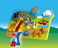 Playmobil Wild Animals puzzle