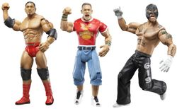WWE Ruthless Aggression action figures