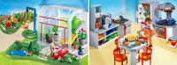 Playmobil Sun Room and Kitchen with Dinette