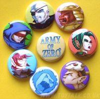 Army of Zero badges