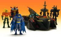 Batman the Brave and the Bold action figures