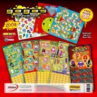 2009 Gogo's Crazy Bones calendar