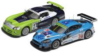 Scalextric Dodge Viper and Aston Martin