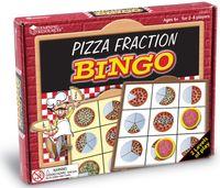 Pizza Fraction Bingo