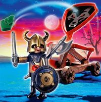 Playmobil Wolf Knight Troop Catapult
