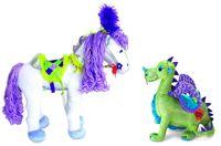 Primrose Horse and Draden Dragon