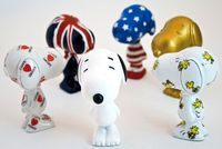 Collectible vinyl Snoopys