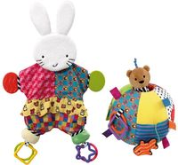 Blanket Teether Bunny and Activity Ball