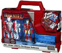Win Iron Man 2 Tri-Armor Suitcases