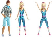 Ken and Barbie and Great Shape Barbie