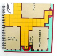 Recycled Scrabble board sketch book