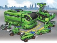 Solar Transformer Car