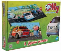 Olly the Little White Van jigsaw puzzles