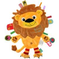Label Label Animal Friends Lion Blankie