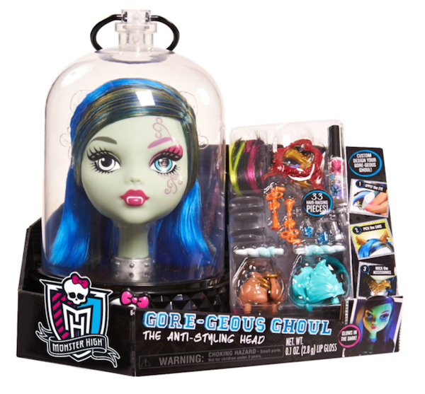Monster High Styling Head Packaging