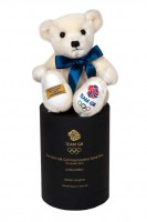 Merrythought Team GB Commemorative teddy bear.