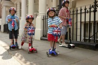 Union Jack Micro Scooters