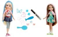 Moxie Girlz Magic Hair Stamp Designer Dolls