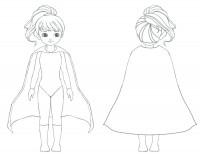 Lottie doll superhero competition