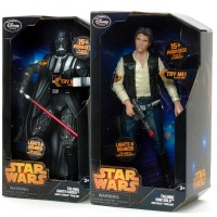 Star Wars 15in. talking figures