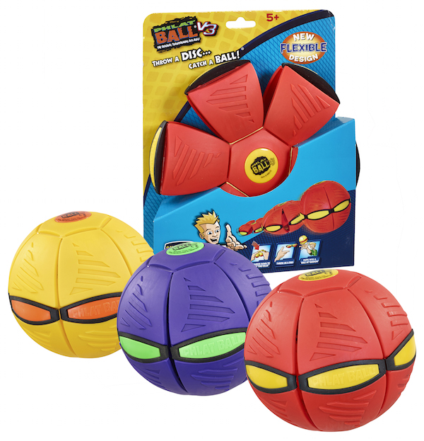 Phlat Ball~V3~Pack and Product